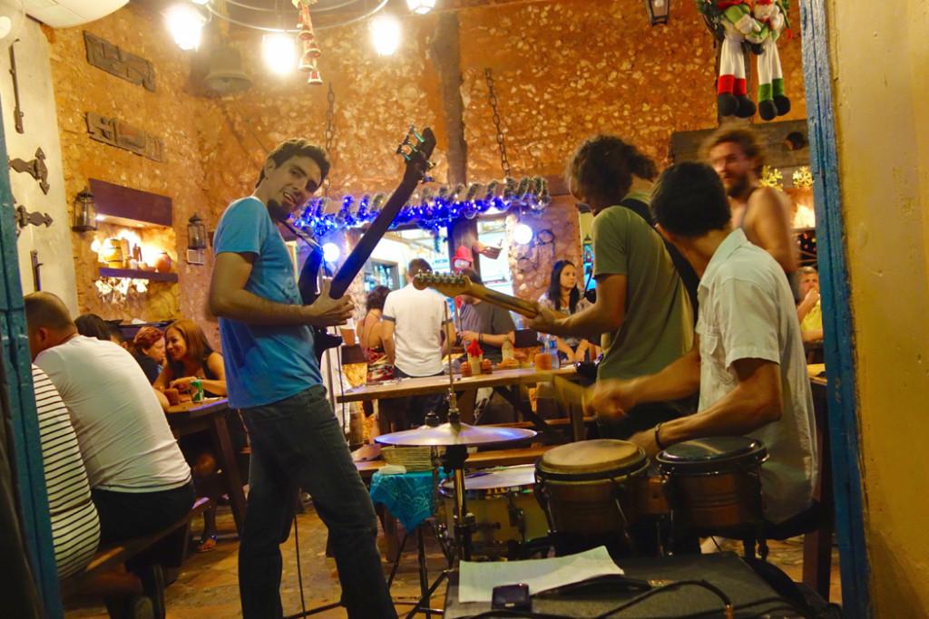Live Cuban music