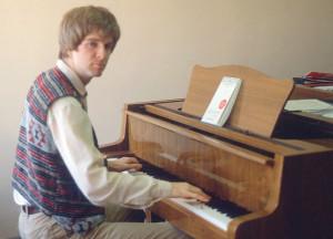rick steves at piano
