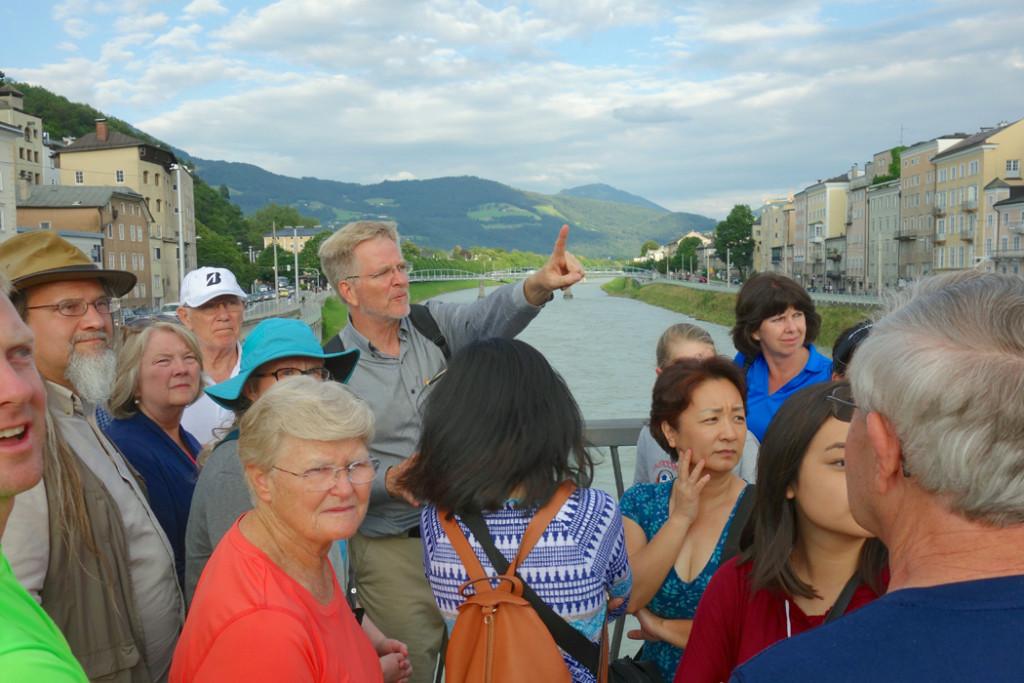 Salzburg walk