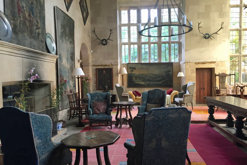 Stanway House living room