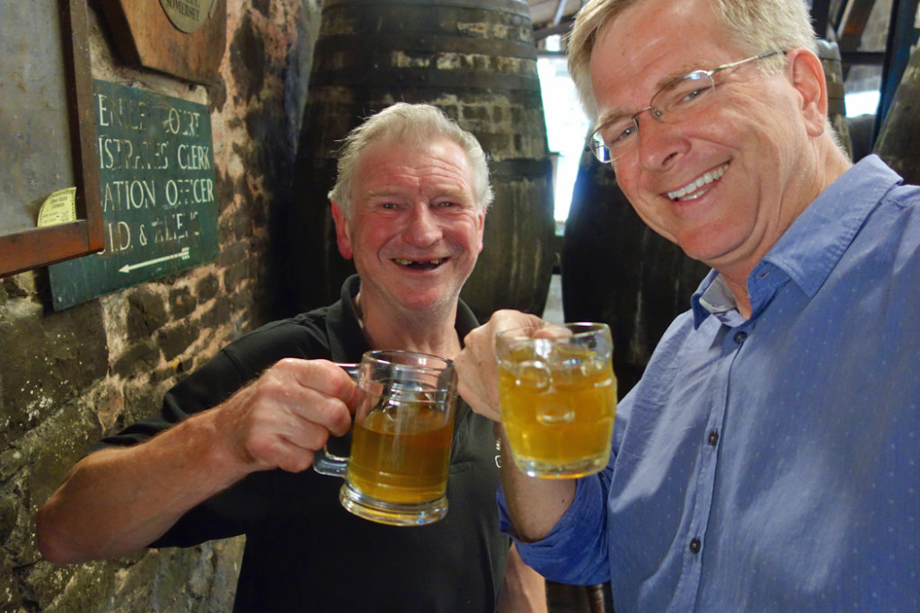 Rick Steves and Roger Wilkins