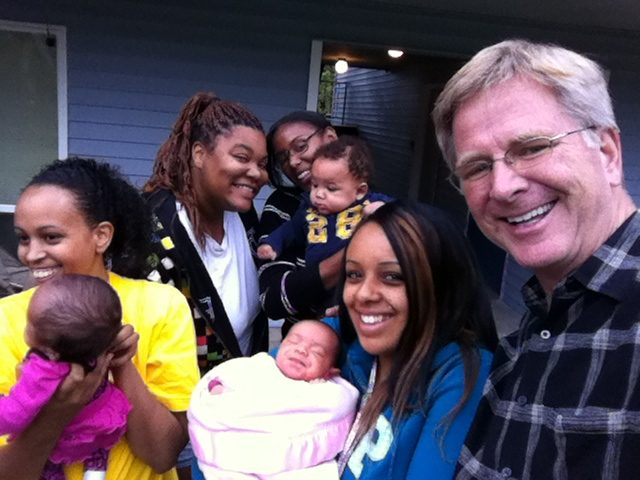 Rick steves with mothers