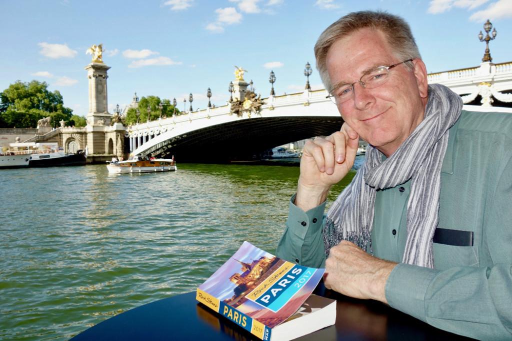 Rick Steves With Paris Guidebook