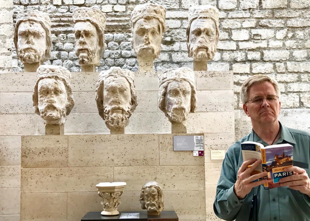 Rick Steves At Cluny Museum
