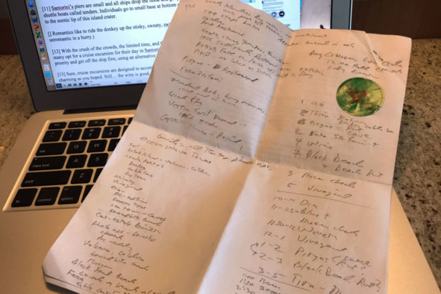 Rick's notes on Santorini