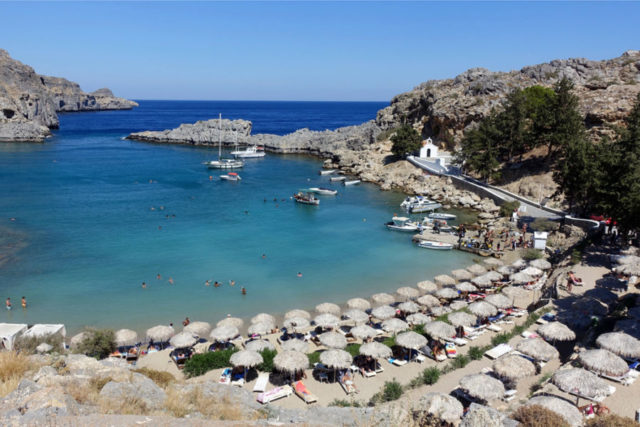 Three Great Islands Rhodes Santorini And Mykonos Rick
