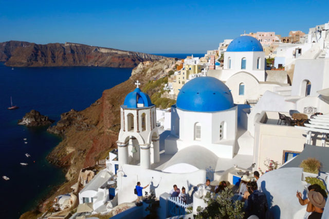 Best Santorini viewpoint