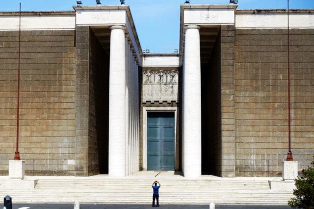 EUR fascist building