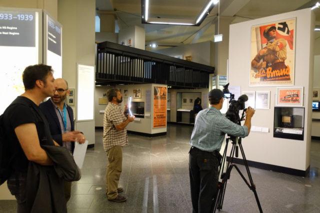 filming in german history museum