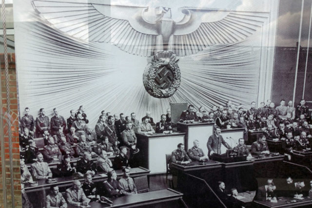 Hitler and his government