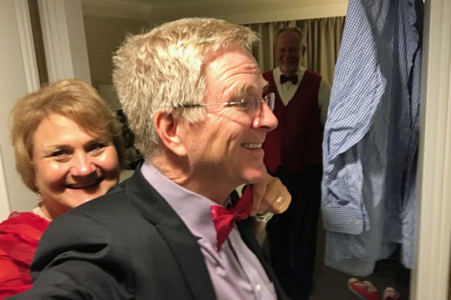 Rick Steves with bowtie