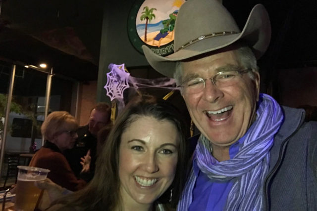 Rick Steves with cowboy hat