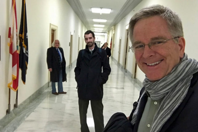 Working the halls of Congress