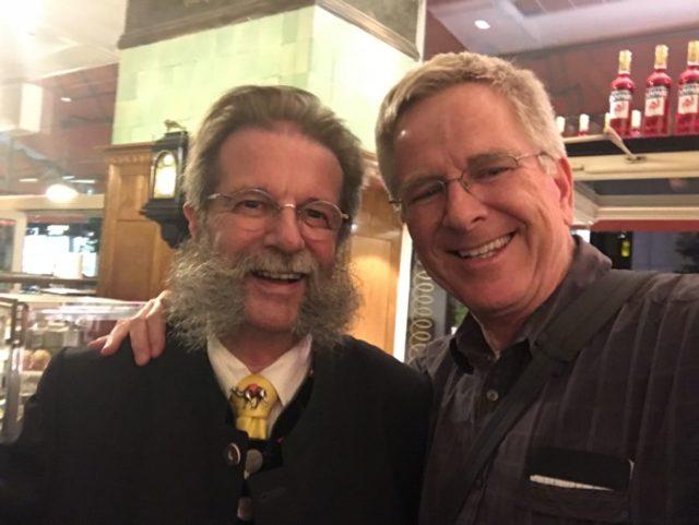 Rick Steves and Johann Georg Gensbichler