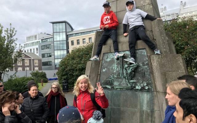 walking tour in reykjavik