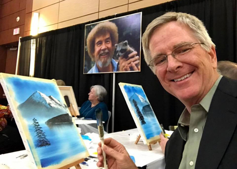 Happy Little Trees: Channeling Bob Ross – Rick Steves